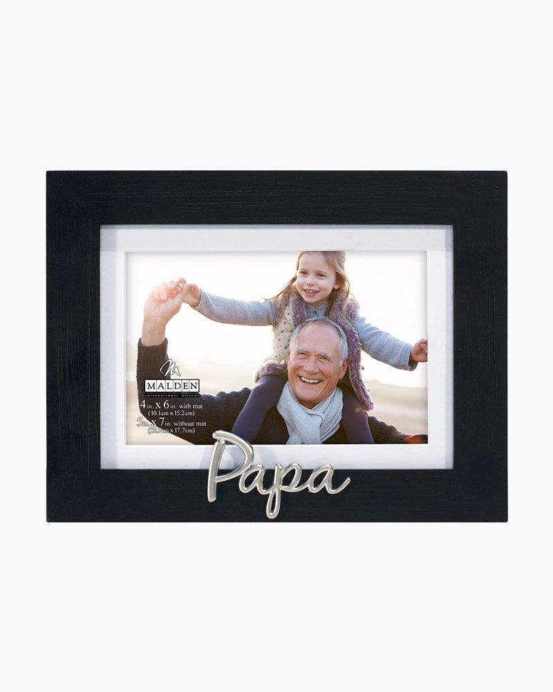 Malden Papa Expressions Picture Frame (4x6) | The Paper Store