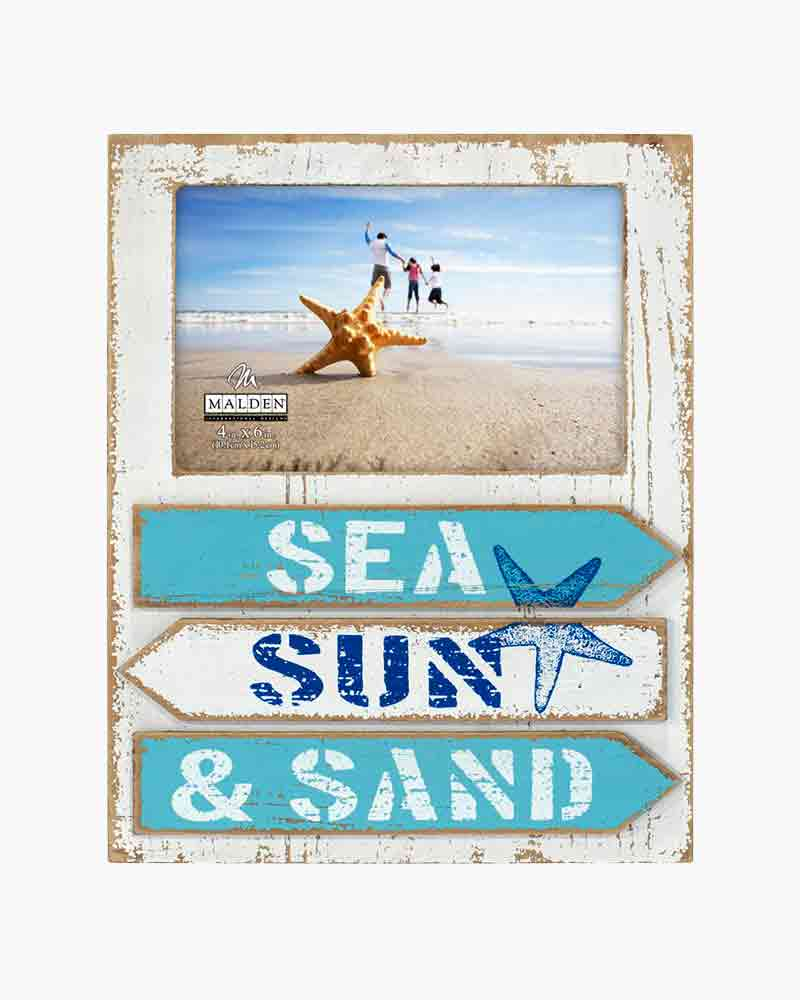 Malden Sea Sun and Sand Picture Frame