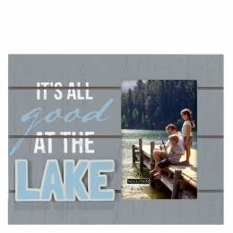Malden All Good at the Lake Picture Frame
