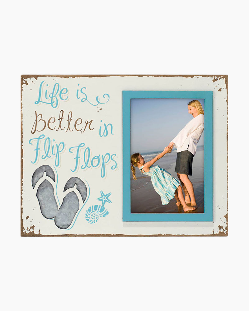 Malden Life is Better in Flip Flops Picture Frame