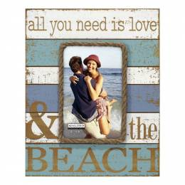 Malden Love and the Beach Picture Frame