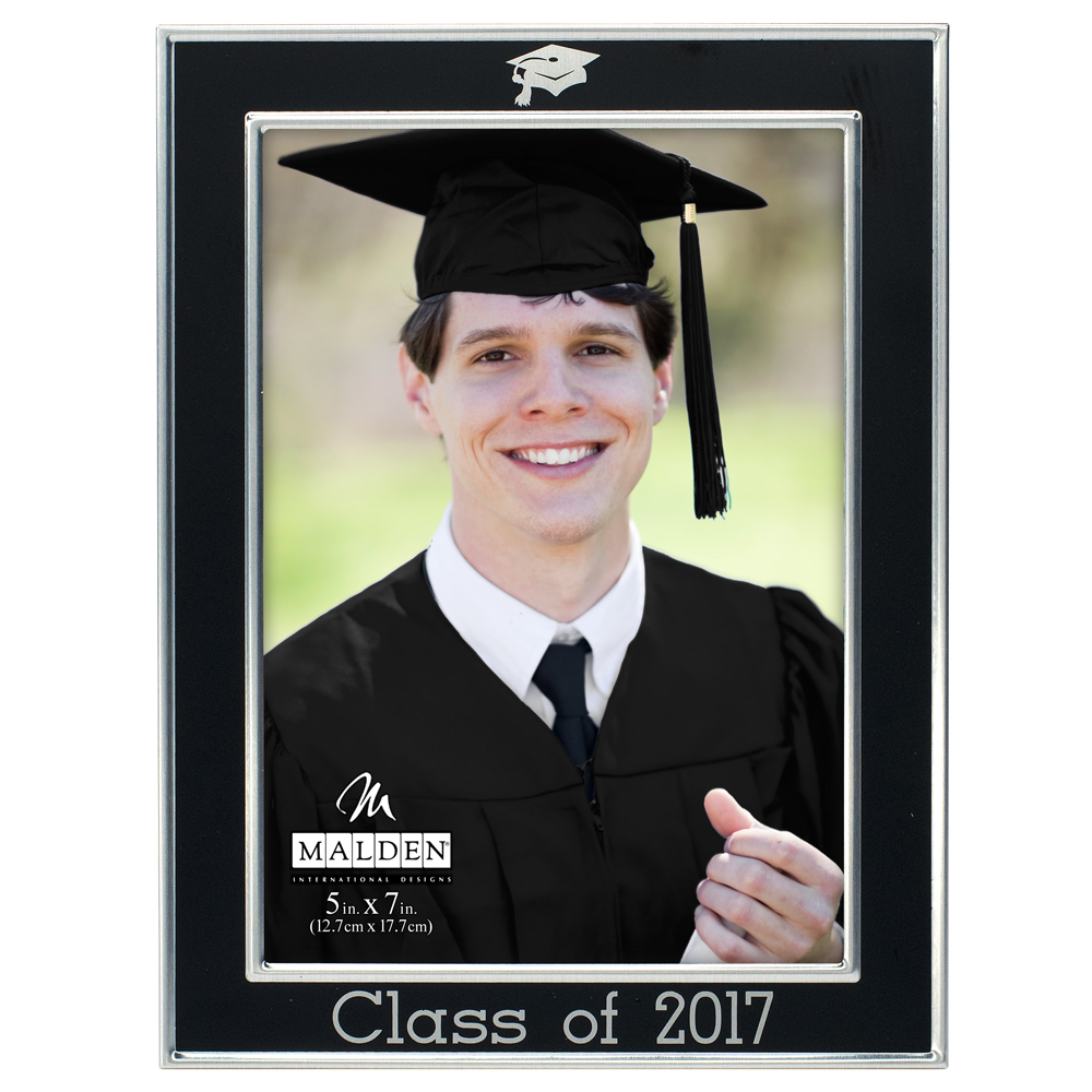 Malden Class of 2017 Metal Picture Frame (5x7)