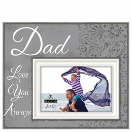 Malden Dad Script Sentiment Picture Frame (4x6)