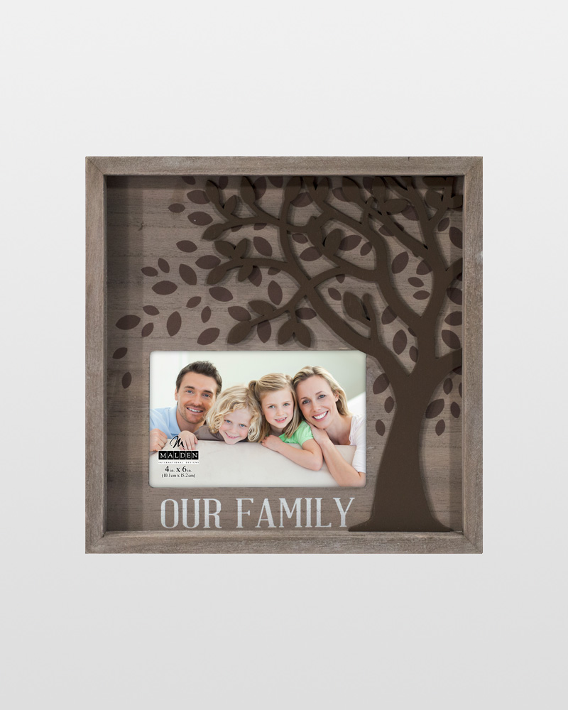 Malden Our Family Tree Dimensional Frame (4x6) | The Paper Store