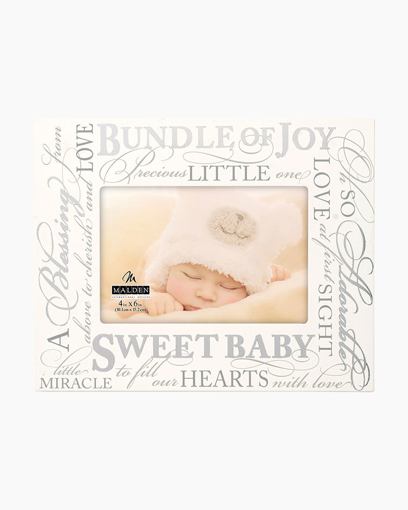 Malden Sweet Baby Frame (4x6) | The Paper Store