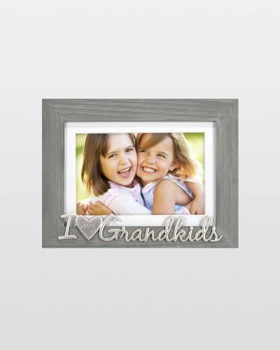 I Love My Grandkids Expressions Picture Frame (4x6)