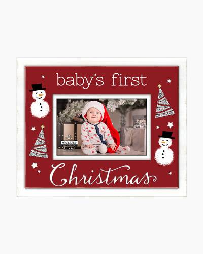 Baby's First Christmas Frame (4x6)