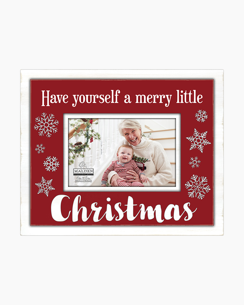 When Is Little Christmas.A Merry Little Christmas Frame 4x6