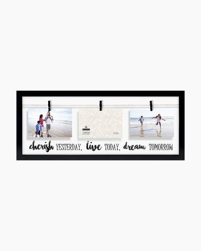 Cherish Clothesline Collage Frame (4x6)