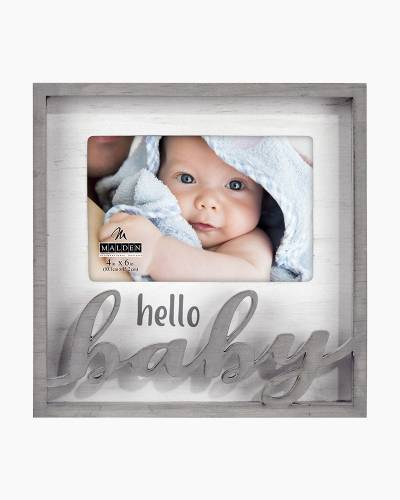 Hello Baby Wooden Expression Frame (4x6)