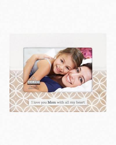 I Love You Mom Frame (4x6)