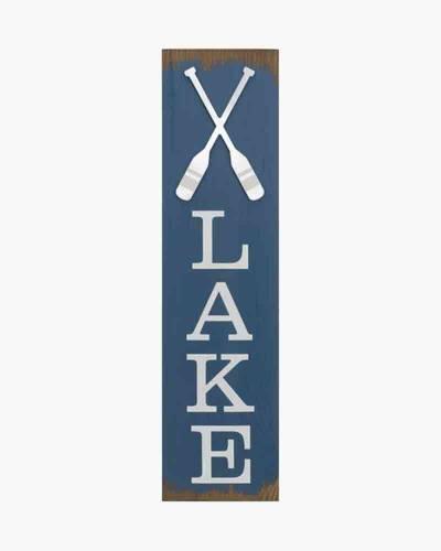 Lake Wall Sign