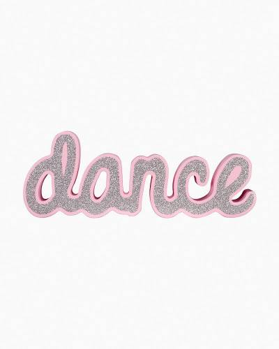 Dance Shaped Word Sign
