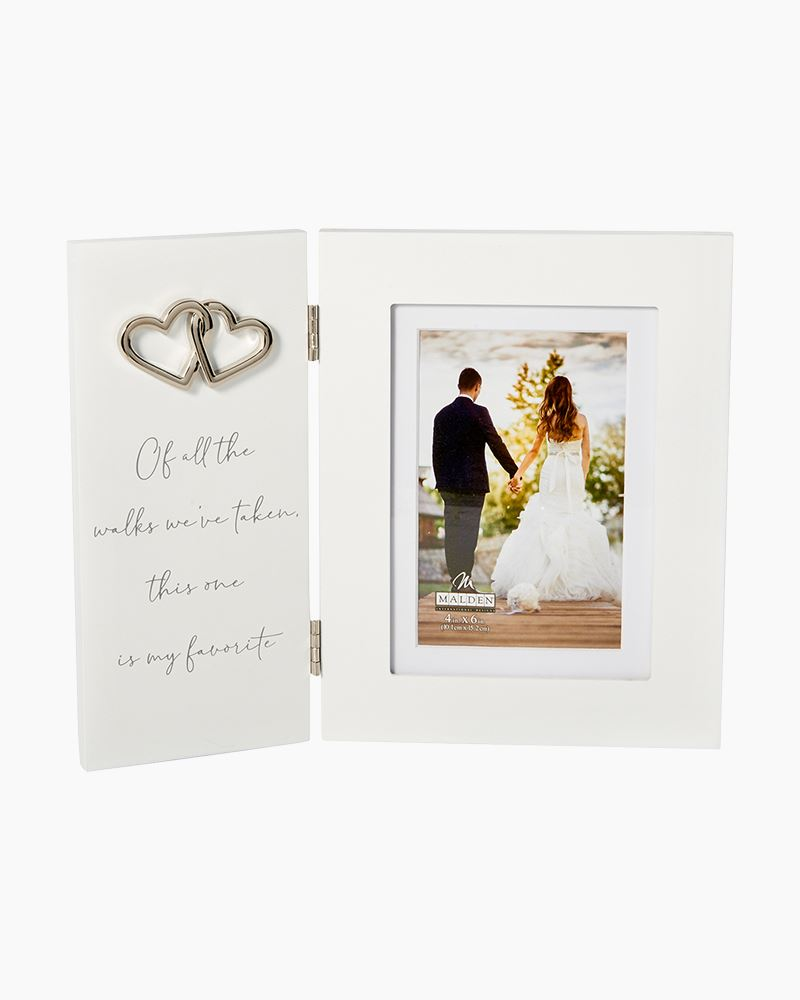 Malden Of All The Walks Wedding Photo Frame 4x6 The Paper Store