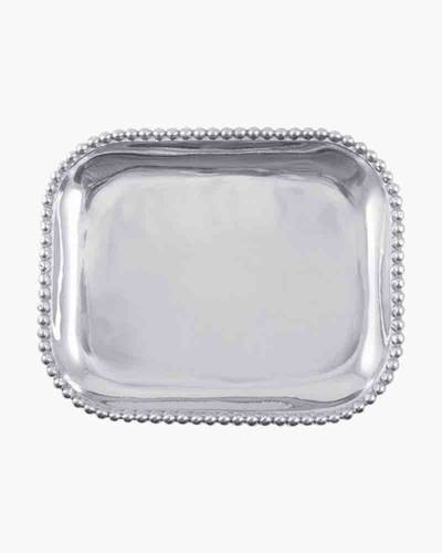 Pearled Rectangular Platter