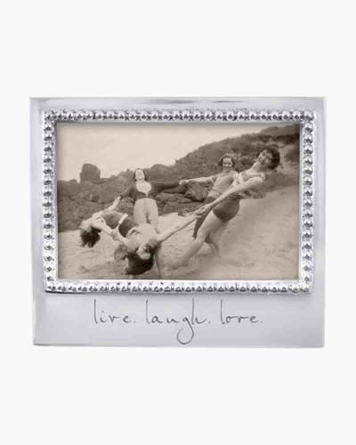 live. laugh. love. Statement Frame (4x6in)