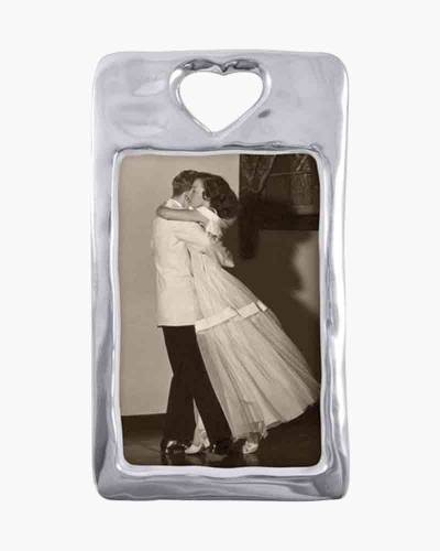 Open Heart Aluminum Frame (4x6in)