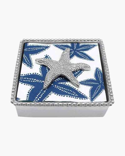 Beaded Napkin Box and Starfish Weight