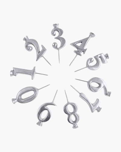 Number Candle Holders (Set of 10)
