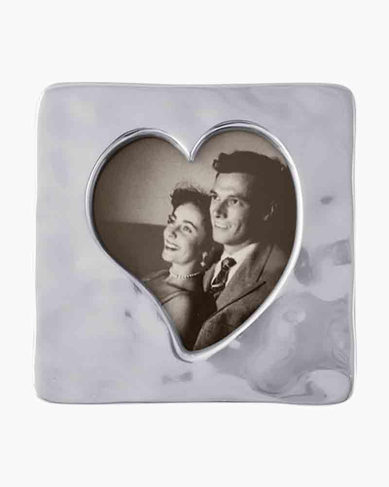 Small Aluminum MARIPOSA Heart Bowl