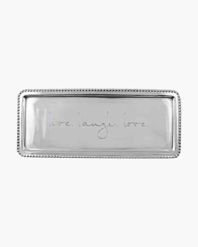 live. laugh. love. Beaded Tray