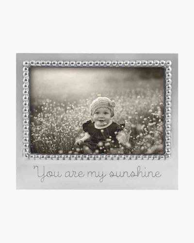 You Are My Sunshine Aluminum Frame (4x6)