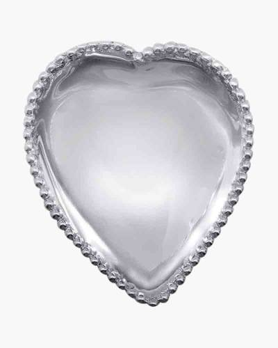 Beaded Heart Trinket Dish