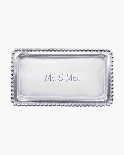 Mr. and Mrs. Statement Tray