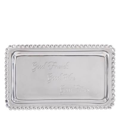 Exclusive Good Friends, Good Wine, Good Times Sentiment Tray