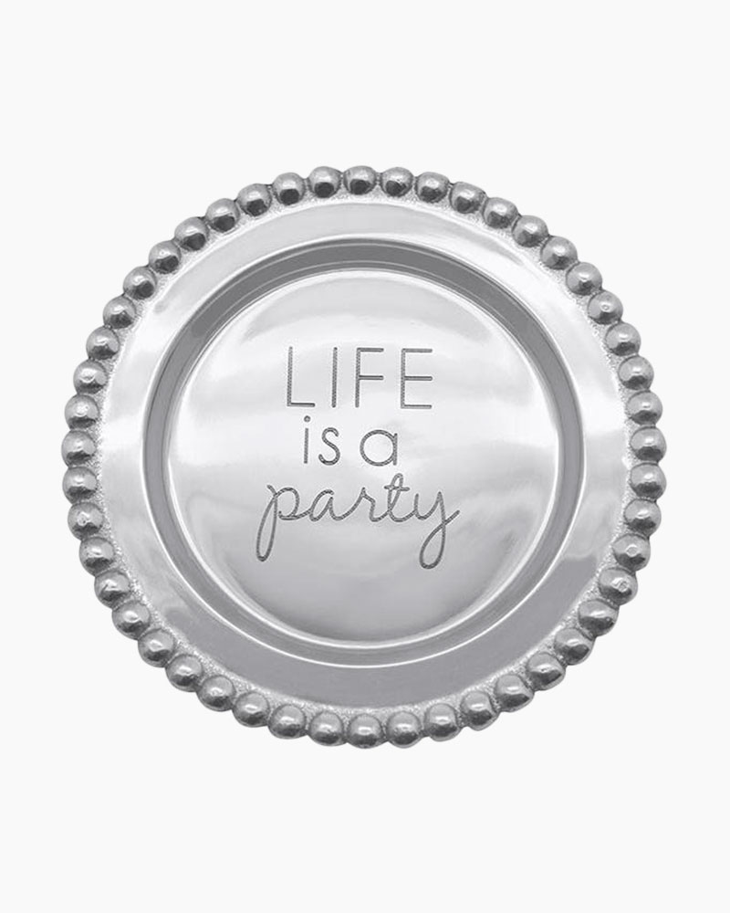 Mariposa Life is a Party Sentiment Plate