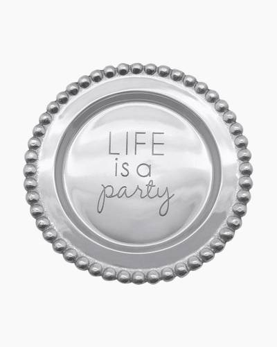 Life is a Party Sentiment Plate