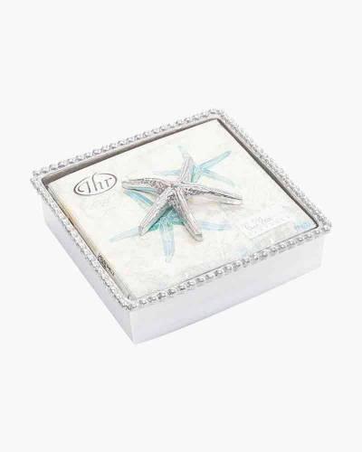 Spiny Starfish Beaded Napkin Box