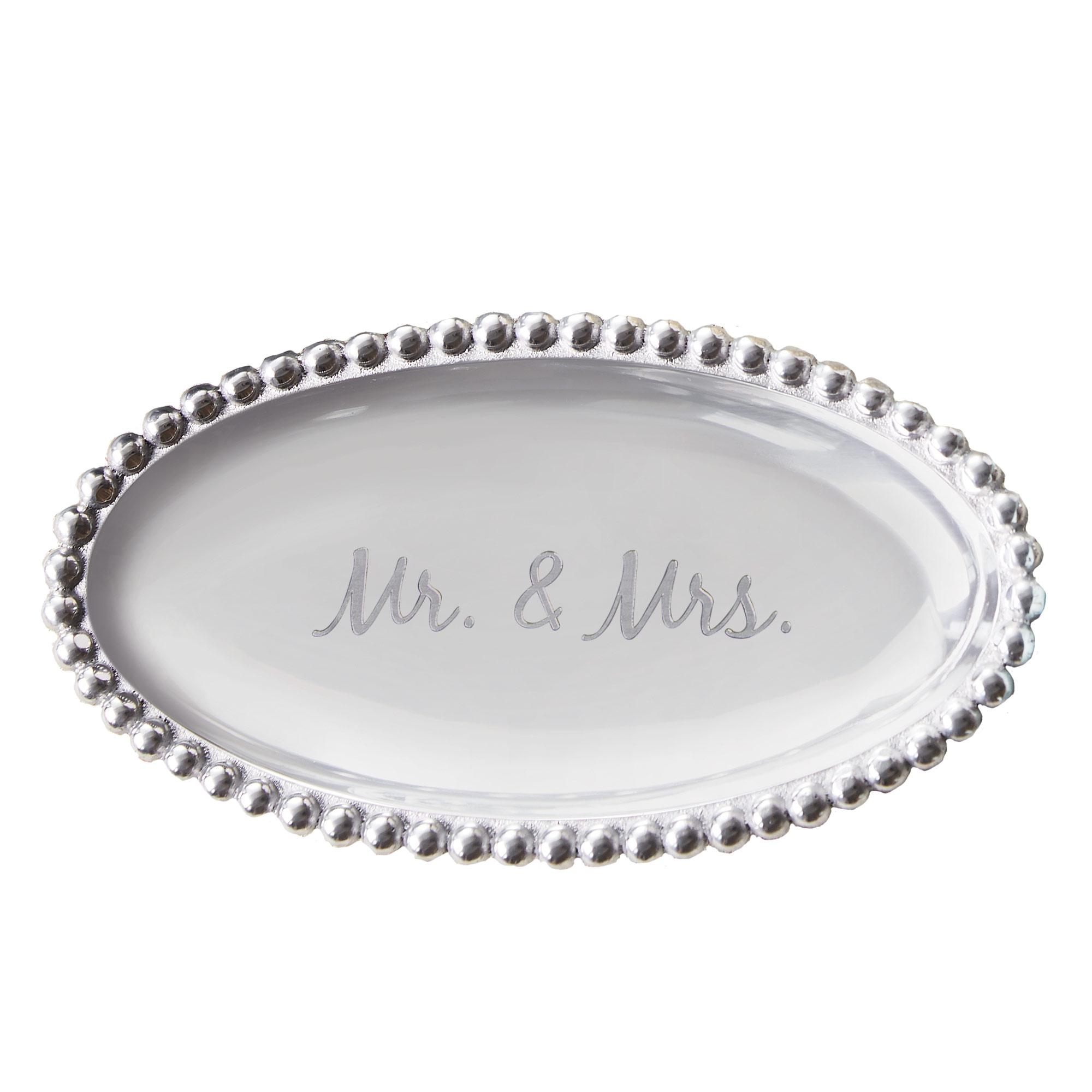 Mariposa Exclusive Mr. and Mrs. Sentiment Tray