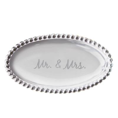 Exclusive Mr. and Mrs. Sentiment Tray