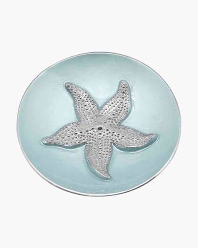 Aqua Starfish Relief Bowl