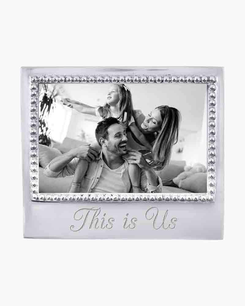 Mariposa This Is Us Beaded Frame 4x6 The Paper Store