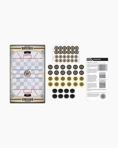 NHL Boston Bruins Checkers Game