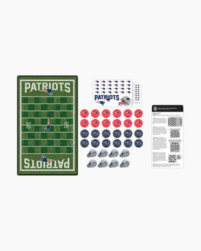 New England Patriots Checkers Game