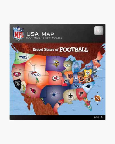 United States of Football Jigsaw Puzzle (500 pc)