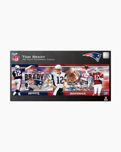 Tom Brady 750pc Panoramic Puzzle