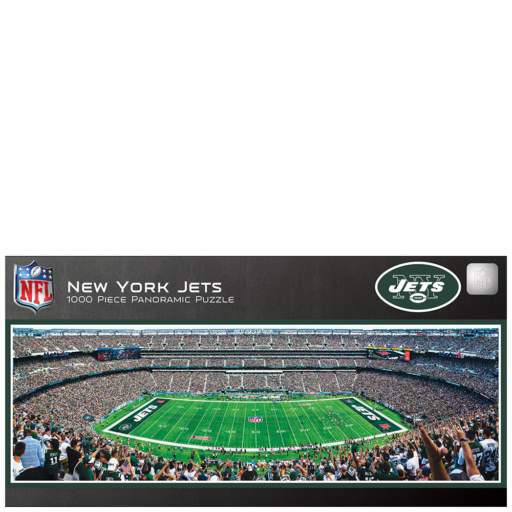 uk availability d2511 94815 New York Jets Panoramic Jigsaw Puzzle (1000 pc)