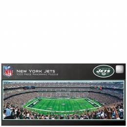 Masterpieces Puzzle Company New York Jets Panoramic Jigsaw Puzzle (1000 pc)