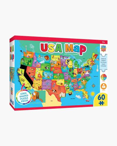 USA Map Jigsaw Puzzle (60 pc)