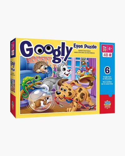 Pets Googly Eyes Jigsaw Puzzle (48 pc)