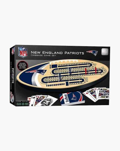 New England Patriots Cribbage Game Set