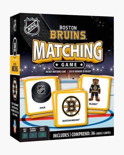 Boston Bruins Matching Game