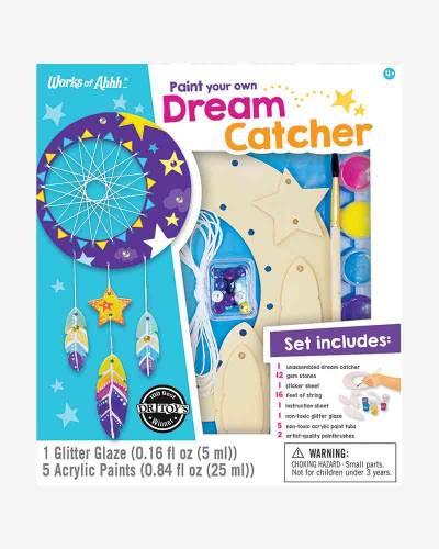 Dream Catcher Wood Paint Kit