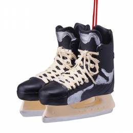 Midwest CBK Hockey Skates Ornament