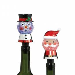 Midwest CBK Santa and Snowman Bottle Stoppers (Assorted)