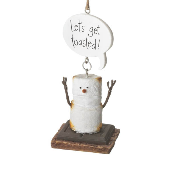 Midwest CBK Let's Get Toasted S'Mores Ornament